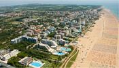 Panorama di Bibione e la sua spiaggia ecosostenibile